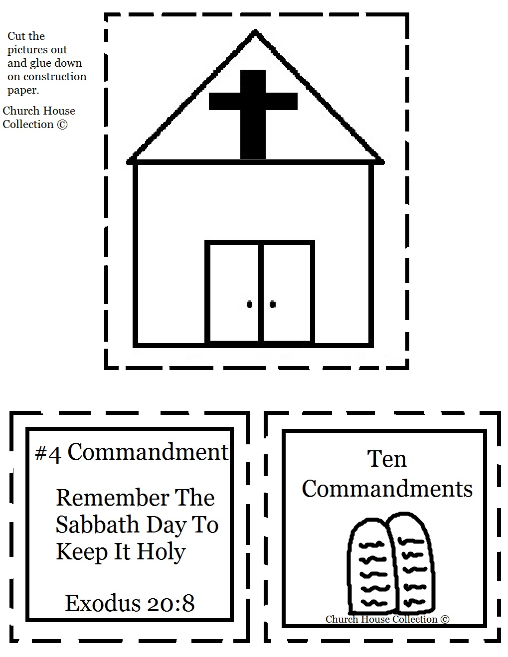 Coloring pages moses and ten commandments - Keep The Sabath