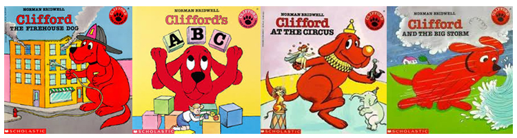 Clifford the big red dog book activities