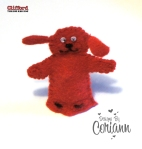 Hand Stitched Clifford Finger Puppet