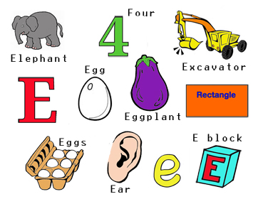 words that start with the letter e free bike letter e by cori 574