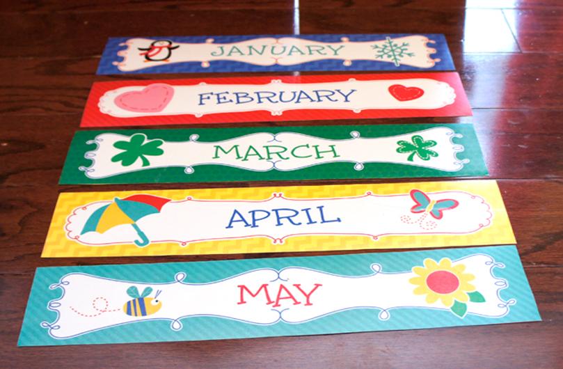 months of year | By Cori-Ann