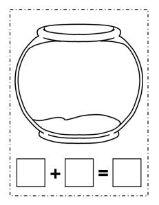 playdoh fish bowl